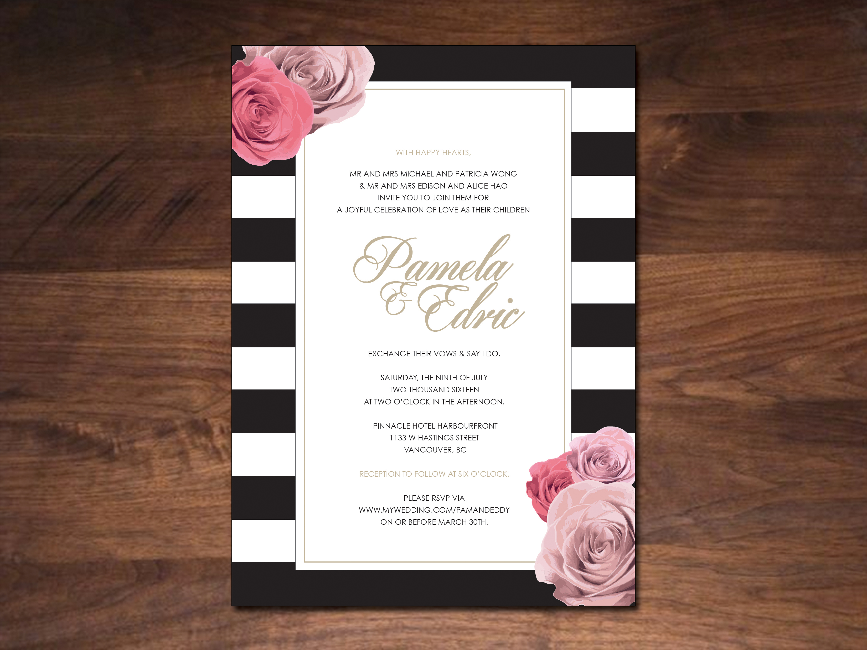 Wedding Invitations – Annick Lung
